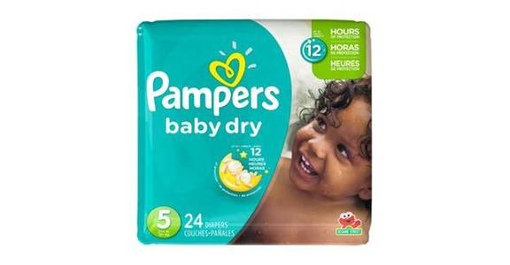 Pampers Baby-Dry Diapers Size 5 (24 ct) from CVS - SW Wanamaker Rd in Topeka, KS