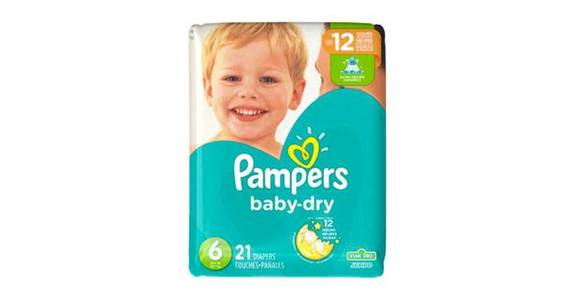 Pampers Baby-Dry Diapers Size 6 (21 ct) from CVS - SW Wanamaker Rd in Topeka, KS