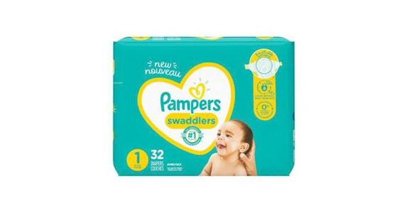 Pampers Swaddlers Newborn Diapers Size 1 (32 ct) from CVS - SW Wanamaker Rd in Topeka, KS