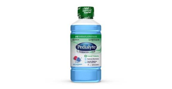 Pedialyte AdvancedCare Electrolyte Solution Blue Raspberry Ready-to-Drink (35 oz) from CVS - SW Wanamaker Rd in Topeka, KS