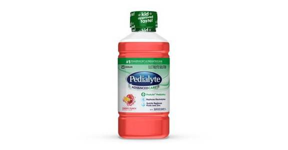 Pedialyte AdvancedCare Electrolyte Solution Cherry Punch Ready-to-Drink (35 oz) from CVS - SW Wanamaker Rd in Topeka, KS