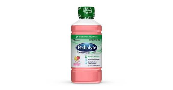 Pedialyte AdvancedCare Electrolyte Solution Strawberry Lemonade Ready-to-Drink (35 oz) from CVS - SW Wanamaker Rd in Topeka, KS