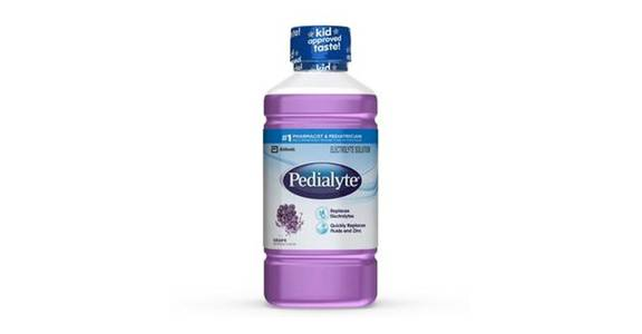 Pedialyte Electrolyte Solution Grape Ready-to-Drink (35 oz) from CVS - SW Wanamaker Rd in Topeka, KS