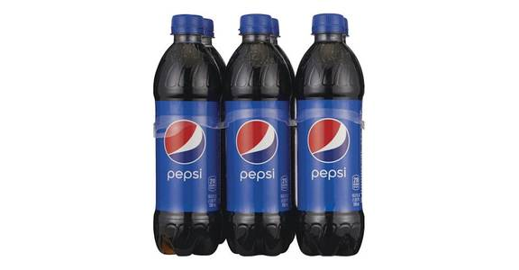 Pepsi Cola Bottles 6 Pack (16.9 oz) from CVS - SW Wanamaker Rd in Topeka, KS