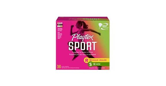 Playtex Sport Tampons Multi-Pack Unscented (36 ct) from CVS - SW Wanamaker Rd in Topeka, KS