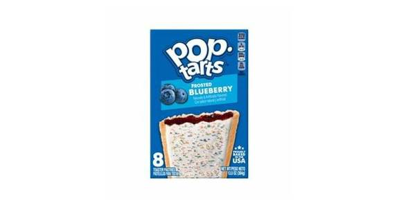 Pop-Tarts Toaster Pastries Frosted Blueberry (14.7 oz) from CVS - SW Wanamaker Rd in Topeka, KS