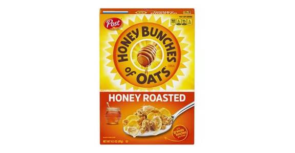 Post Honey Bunches of Oats Cereal Honey Roasted (14.5 oz) from CVS - SW Wanamaker Rd in Topeka, KS