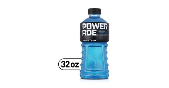 Powerade Sports Drink Mountain Blast (32 oz) from CVS - SW Wanamaker Rd in Topeka, KS