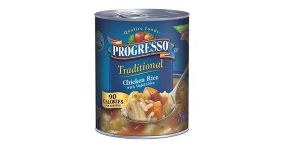 Progresso Traditional Soup Chicken Rice & Vegetables (19 oz) from CVS - SW Wanamaker Rd in Topeka, KS