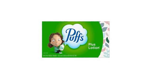Puffs Plus Lotion Facial Tissues (124 ct) from CVS - SW Wanamaker Rd in Topeka, KS