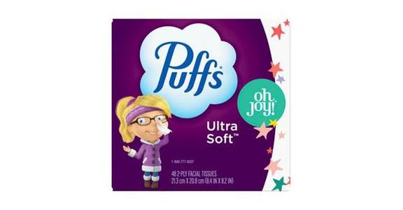 Puffs Ultra Soft Facial Tissues (48 ct) from CVS - SW Wanamaker Rd in Topeka, KS