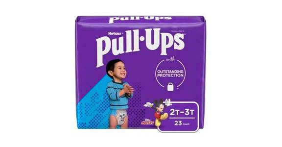 Pull-Ups Learning Designs Girls' Training Pants 2T-3T (23 ct) from CVS - SW Wanamaker Rd in Topeka, KS