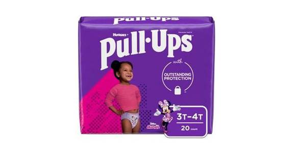 Pull-Ups Learning Designs Girls' Training Pants 3T-4T (20 ct) from CVS - SW Wanamaker Rd in Topeka, KS