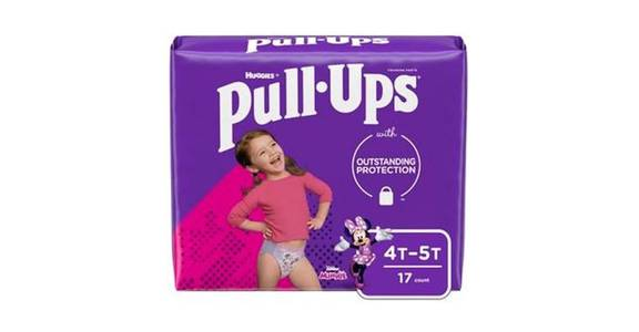 Pull-Ups Learning Designs Girls' Training Pants 4T-5T (17 ct) from CVS - SW Wanamaker Rd in Topeka, KS