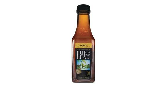 Pure Leaf Real Brewed Tea With Lemon Single Bottle (18.5 oz) from CVS - SW Wanamaker Rd in Topeka, KS