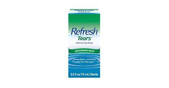 Refresh Tears Lubricant Eye Drops (0.5 oz) from CVS - SW Wanamaker Rd in Topeka, KS