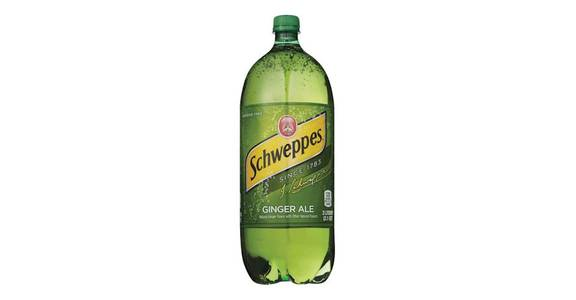 Schweppes Ginger Ale Soda (2-Liter Bottle) (67.6 oz) from CVS - SW Wanamaker Rd in Topeka, KS