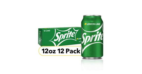Sprite Can 12 Pack (12 oz) from CVS - SW Wanamaker Rd in Topeka, KS
