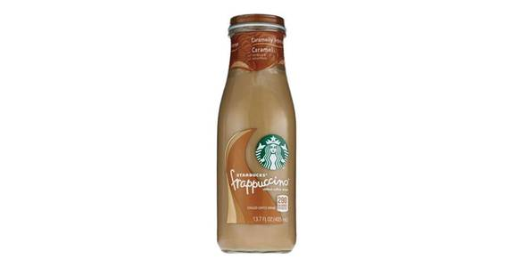 Starbucks Frappaccino Caramel (13.7 oz) from CVS - SW Wanamaker Rd in Topeka, KS
