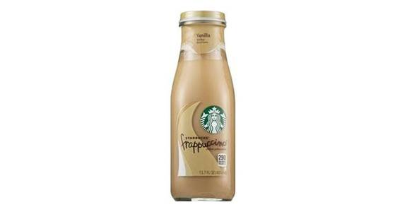 Starbucks Frappuccino Chilled Coffee Drink Vanilla (13.7 oz) from CVS - SW Wanamaker Rd in Topeka, KS