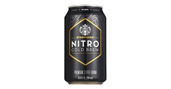 Starbucks Nitro Cold Brew Black (9.6 oz) from CVS - SW Wanamaker Rd in Topeka, KS