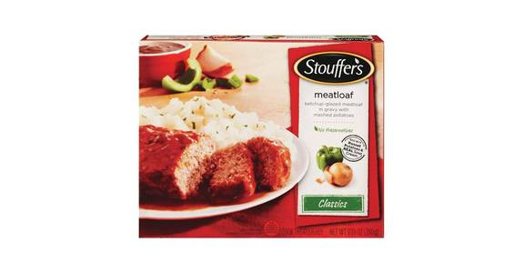 Stouffer's Classics Frozen Meatloaf with Gravy & Potatoes (9.875 oz) from CVS - SW Wanamaker Rd in Topeka, KS