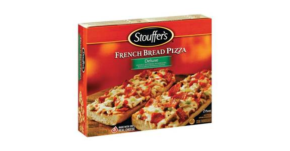 Stouffer's Frozen Pizza French Bread Deluxe (2 ct) from CVS - SW Wanamaker Rd in Topeka, KS