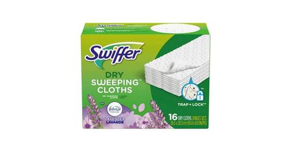 Swiffer Sweeper Dry Sweeping Pad Multi Surface Refills (16 ct) from CVS - SW Wanamaker Rd in Topeka, KS