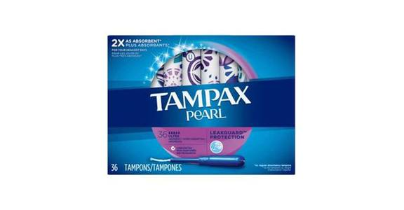 TAMPAX Pearl, Ultra, Plastic Tampons, Unscented (36 ct) from CVS - SW Wanamaker Rd in Topeka, KS