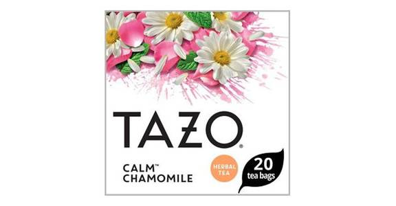 Tazo Herbal Tea Caffeine-Free Calm Chamomile Bags For a Calming Beverage (20 ct) from CVS - SW Wanamaker Rd in Topeka, KS