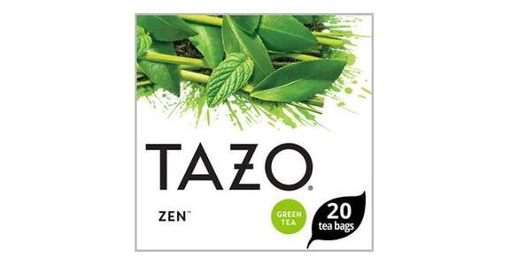 Tazo Zen Moderate Caffeine Level Green Tea Bags For an Calming Beverage (20 ct) from CVS - SW Wanamaker Rd in Topeka, KS