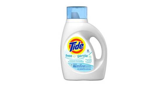 Tide Free & Gentle Liquid Laundry Detergent (50 oz) from CVS - SW Wanamaker Rd in Topeka, KS