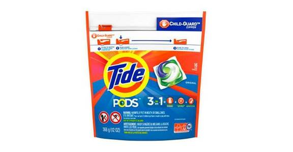 Tide PODS Liquid Laundry Detergent Pacs, Original (16 ct) from CVS - SW Wanamaker Rd in Topeka, KS