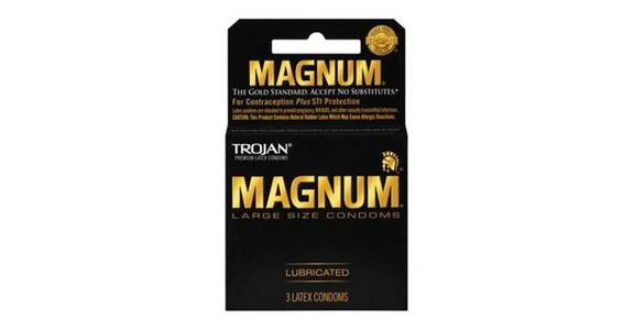 Trojan Magnum Condoms Lubricated Latex (3 ct) from CVS - SW Wanamaker Rd in Topeka, KS