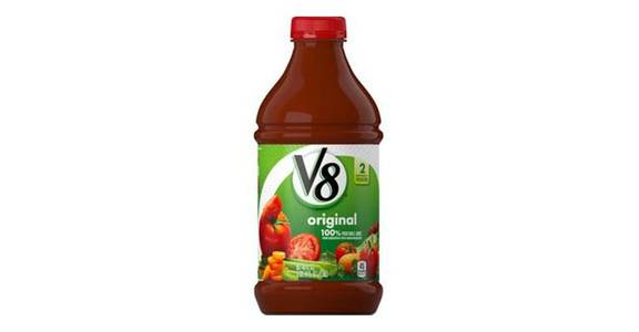 V8 Original 100% Vegetable Juice (46 oz) from CVS - SW Wanamaker Rd in Topeka, KS