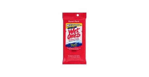 Wet Ones Hands & Face Antibacterial Wipes Travel Pack Fresh Scent (15 ct) from CVS - SW Wanamaker Rd in Topeka, KS