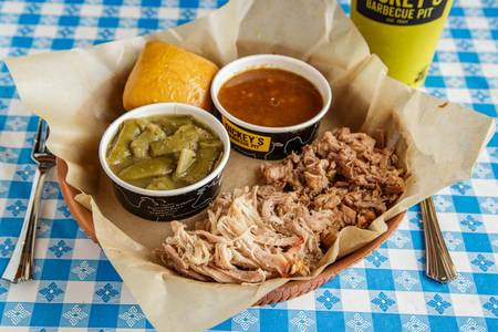 2 Meat Plate from Dickey's Barbecue Pit - Colorado Springs Austin Bluffs Pkwy in Colorado Springs, CO
