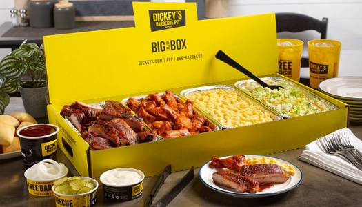 BYB Wings and Ribs Party Pack from Dickey's Barbecue Pit -  Dallas Central Expy in Dallas, TX