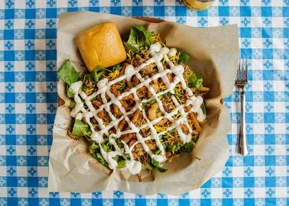 Smokehouse Salad from Dickey's Barbecue Pit - Dallas Forest Ln in Dallas, TX