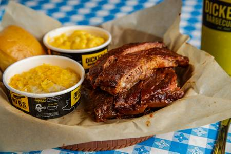 Rib Plate from Dickey's Barbecue Pit - Dallas Forest Ln in Dallas, TX