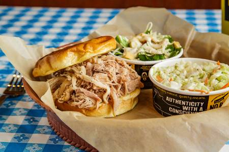 Classic Sandwich Plate from Dickey's Barbecue Pit - Madison in Madison, WI