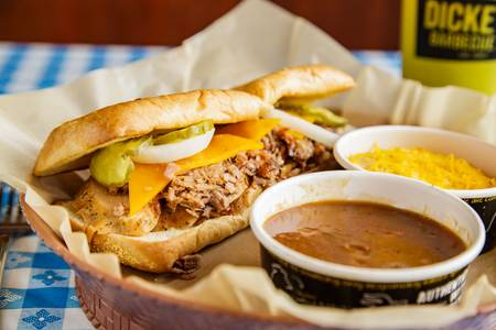 Westerner Plate from Dickey's Barbecue Pit - Madison in Madison, WI