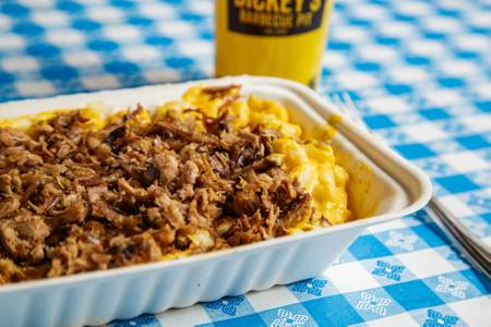 Mac Stack from Dickey's Barbecue Pit - Dallas Wycliff Ave in Dallas, TX