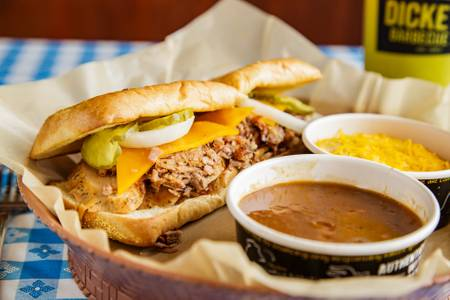 Westerner Sandwich from Dickey's Barbecue Pit -  Ferndale in Ferndale, MI