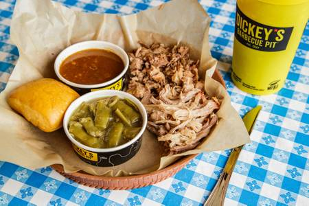 2 Meat Plate from Dickey's BBQ Pit in Elk Grove, CA