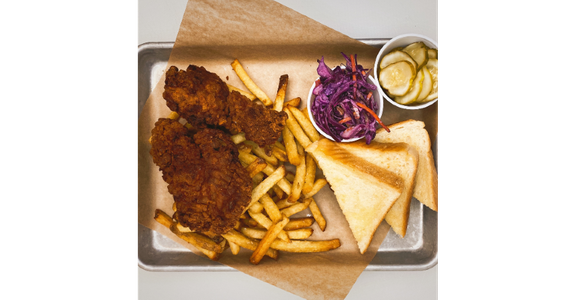 Fried Chicken Platter from Duck Lips Fried Chicken in Madison, WI