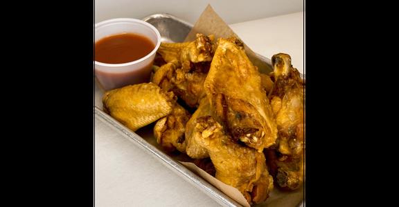 Half Dozen Nashville Hot Chicken Wings from Duck Lips Fried Chicken in Madison, WI