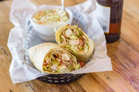 Chicken Bacon Ranch Wrap from Eagle's Nest Sports Bar & Grill in La Crosse, WI