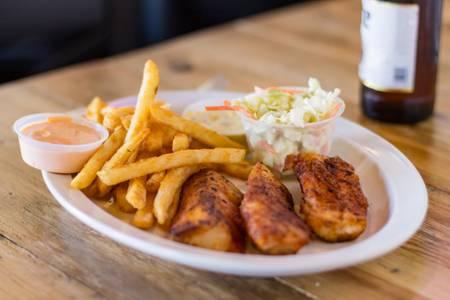 Three Piece Cod from Eagle's Nest Sports Bar & Grill in La Crosse, WI