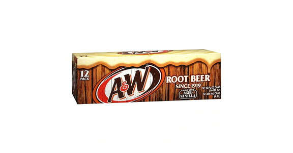 A&W Root Beer Soda 12 oz (12 pack) from EatStreet Convenience - Branch St in Middleton, WI